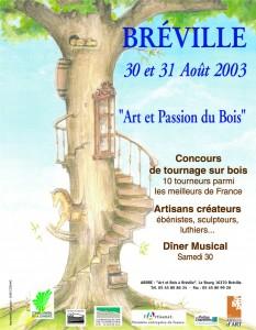 """Affiche """"Rondeurs-et-couleurs"""" 2003"""