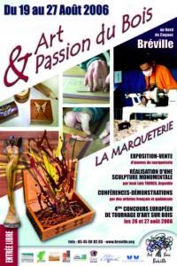 """Affiche """" la Marqueterie"""" 2006"""