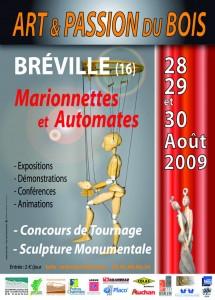 """Affiche """"Marionnettes et Automates"""" 2009"""