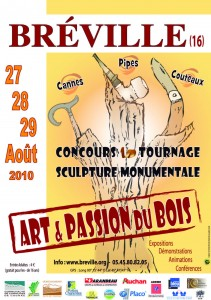 "Affiche ""Cannes - Pipes - Couteaux"" 2010"