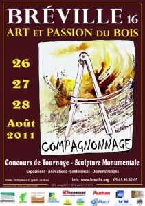 Affiche le Compagnonnage 2011