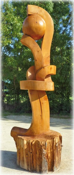 Sculpture Funambule Jean-François Maubert 2011