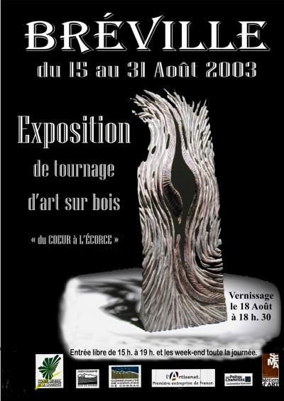 """Affiche""""le Tournage"""" 2003"""